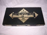 Monopoly Board Game 50th Anniversary Edition.