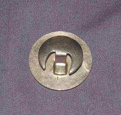 WW2 Kings Crown For Loyal Service Lapel Badge (2)