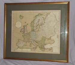 Map Of Europe By J Russell 1801