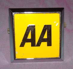 AA Badge 1970s 1980s