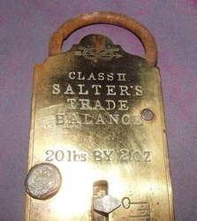 Salters Brass Trade Spring Balance Class II (4)