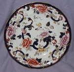 Masons Blue Mandalay 10.5 Inch Dinner Plate.