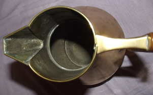 Christopher Dresser Style Brass Water Jug (6)