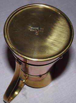 Brass Art Deco Jug (4)