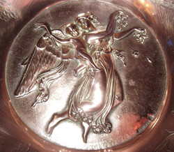 Copper Wall Plate Signed Drewsen (3)