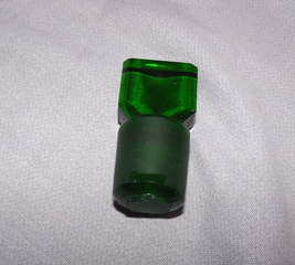 Green Glass Apothecary Bottle (5)
