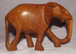 Carved Wooden Elephant (2)