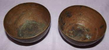 Pair of Bida African Bowls (2)