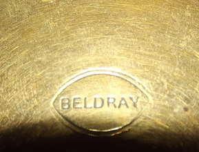 Beldray Brass Wall Plate (3)