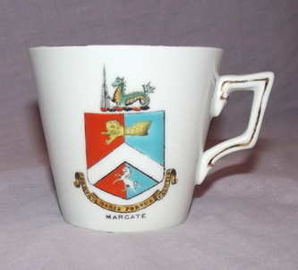 Crested Ware China Cup titled Margate.