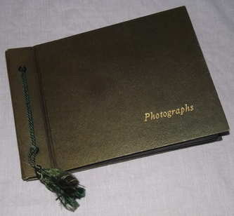 Photograph and Postcard Album 1950's Stratford on Avon, Leamington Spa.
