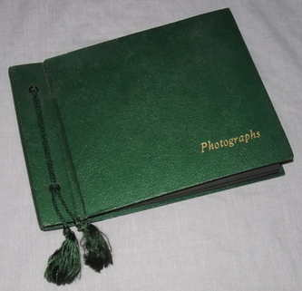 Photograph and Postcard Album 1950's Clevedon Somerset, Bath and Cheddar.