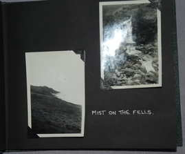 Photograph and Postcard Album 1950's The Lake District