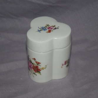 Royal Worcester Trinket Box.