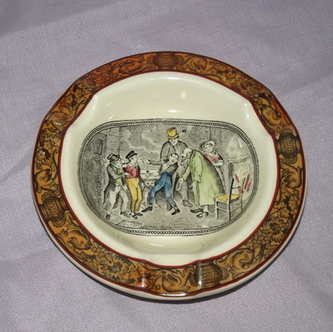 Adams Ashtray, Oliver Twist, Charles Dickens.