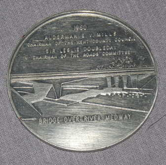 Medway Bridge Commemorative Coin 1960.