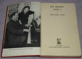 My Heart and I Diana Napier Tauber 1st Edition (2)