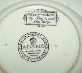 Adams Ashtray Oliver Twist Charles Dickens (4)