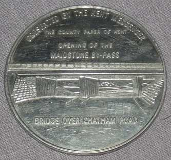 Medway Bridge Commemorative Coin 1960 (2)