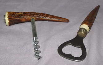 Horn Effect Bottle Opener and Cork Screw (3)