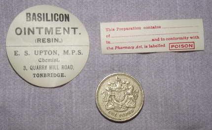 Vintage Chemist Bottle Labels (3)