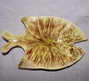 Retro Fish Shaped Dish.
