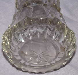 Antique Hallmarked Silver and Cut Glass Sugar Shaker 1912 (4)