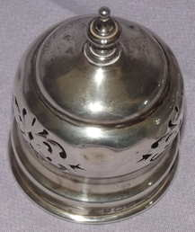 Antique Hallmarked Silver and Cut Glass Sugar Shaker 1912 (5)