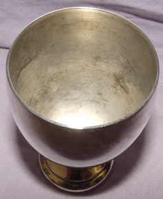 Silver Plated Masonic Goblet (2)