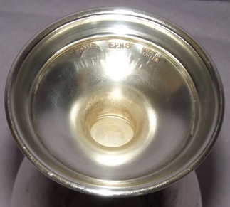 Silver Plated Masonic Goblet (3)