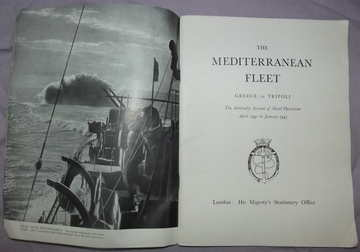 The Mediterranean Fleet Greece to Tripoli 1941 1943 (2)