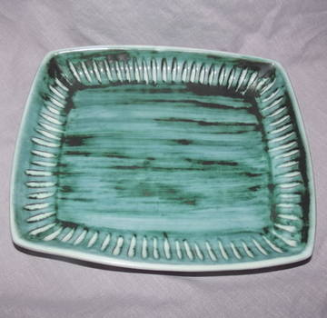 Hastings Pottery Rectangular Dish.