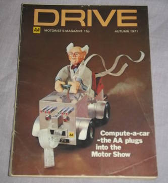Drive Magazine At The Motor Shows Autumn 1971.