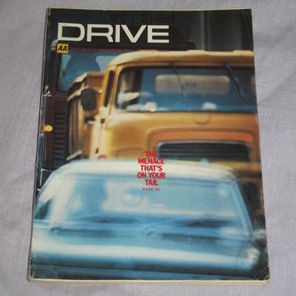 Drive Magazine Eating Out Summer 1972.