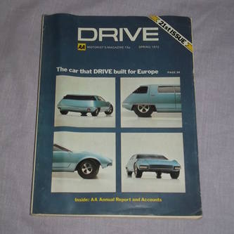 Drive Magazine At 21 Spring 1972.