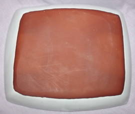 Hastings Pottery Rectangular Dish (4)