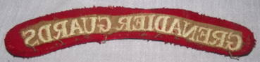 Grenadier Guards Shoulder Patch Title (2)