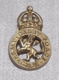 WW2 Army Cadet Force plastic Badge