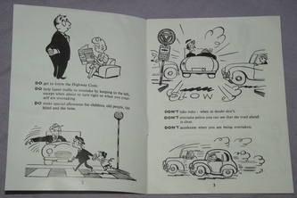 AA Safety Through Courtesy Booklet 1950s (2)