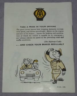 AA Safety Through Courtesy Booklet 1950s (4)