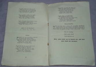 WW2 Commemoration Service Programme (3)