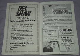 Medway Festival of Steam Programme 1972 (5)