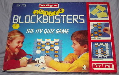 Blockbuster Board Game by Waddingtons.