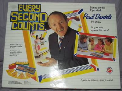 Every Second Counts Board Game.