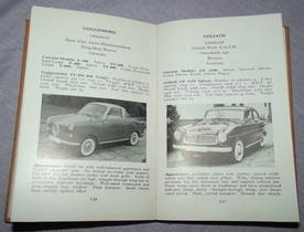 The Observers Book of Automobiles 4th Edition 1958 (4)