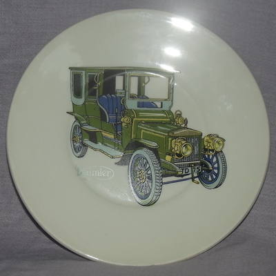 Daimler Decorated Plate.