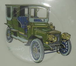Daimler Decorated Plate