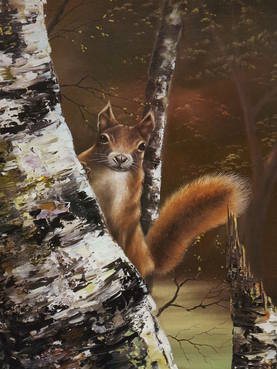 David Waller Limited Edition Signed Print Woodland Enchantment (2)
