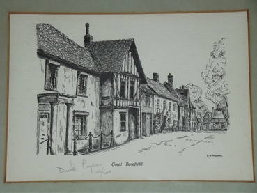 Great Bardfield Essex Ltd Edition Print By D N Pegram (2)