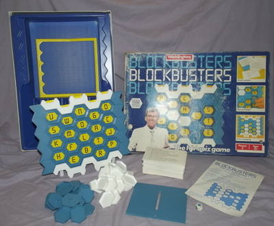 Blockbusters Board Game by Waddingtons.